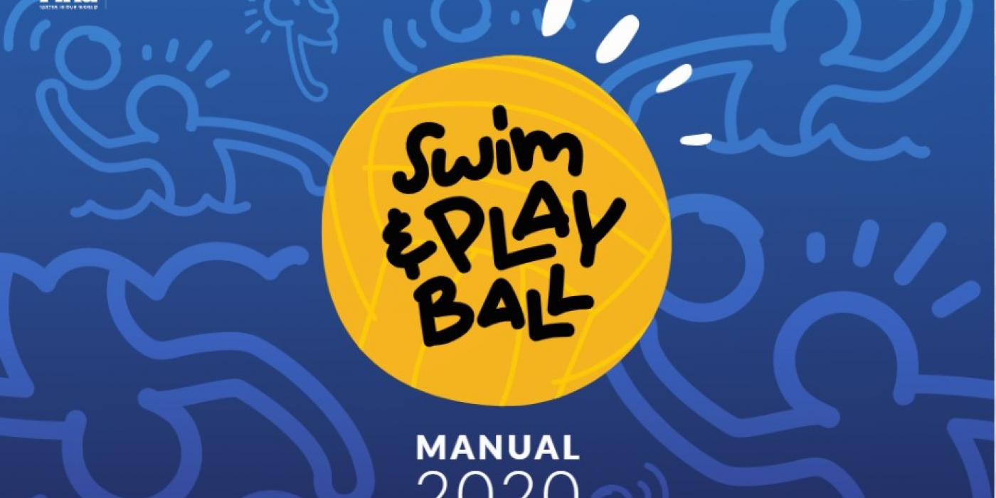 FINA handboek swim & play ball
